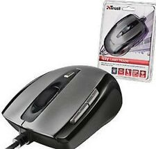 NEW TRUST IZZY 6 BUTTON LASER MOUSE, 800/1600/3200 DPI