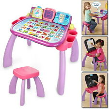 3 In 1 Learning Touch Learn Art Table Desk Toddler Activity Kids Educational Fun