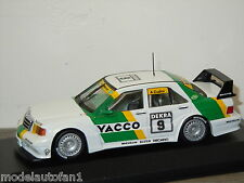 Mercedes 190E Evo2 DTM Team Snobeck. Cudini van Minichamps 1:43 in Box *24565