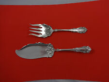 BERKSHIRE BY 1847 ROGERS PLATE SILVERPLATE FISH SET 2-PIECE