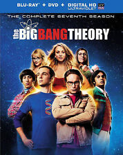 The Big Bang Theory: The Complete Seventh Season (Blu-ray Disc, 2014, 5-Disc...