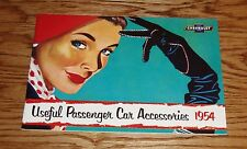 1954 Chevrolet Useful Passenger Car Accessories Sales Brochure 54 Chevy