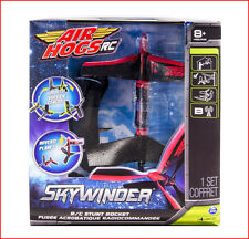 Air Hogs SkyWinder RC Rocket - Radio Control STUNT Hoover Orbit Fly - RED *NEW*