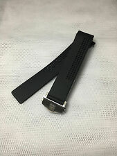 Replacement Rubber Strap With Clasp Fits Compatible With Tag Heuer 20mm