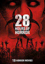 28 Hours of Horror DVD 19 Zombie Movies, Night Of The Living Dead, Hide & Creep