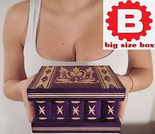 Secret Storage Box Container with KEY for Medical Marijuana / buds, Medicaments
