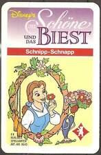 Disney Original Berliner Spielkarten Die Schöne und das Biest Schnipp - Schnapp