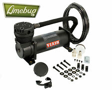 Viair 480C Stealth Black 12 Volt Air Compressor Kit (200PSI) Air Ride Airride