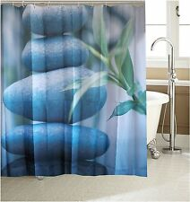 Zen Stone Tower Fabric Shower Curtain New Free Shipping