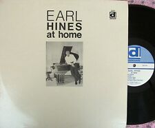 Earl Hines at home ORIG US LP EX '69 Delmark DS212 Piano Jazz
