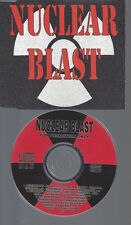 CD-NUCLEAR BLAST PROMO--FETISH 69-MACABRE--AMORPHIS--BRUTALITY--MASTER-SINISTER