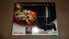 New Sony PlayStation 3 - 80 GB Console - Motor Storm Bundle - PS3 - U.S. Seller