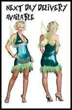 New Sexy Fancy Dress Costume Halloween outfit Tinkerbell adult Fairy SMALL