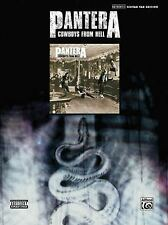 Pantera: Cowboys from Hell : Authentic Guitar Tab Edition (2007, Paperback)