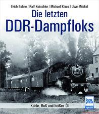 Fachbuch Die letzten DDR-Dampfloks, Deutsche Reichsbahn, DR, viele Bilder, OVP