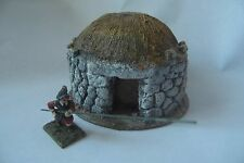 28MM PMC GAMES NB205 - PEASANT CIRCULAR DWELLING - NICK BUXEY COLLECTION