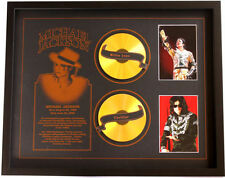 New Michael Jackson CD Memorabilia Framed