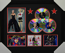 PINK  3CD  MEMORABILIA FRAMED SIGNED LIMITED EDITION #B