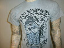 MONGOLOIDS TIME TRIALS T SHIRT New Jersey Hardcore Punk Concert Troubled Waters
