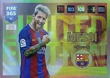 Adrenalyn XL FIFA 365 2017 limited Edition Lionel Messi blonde Panini