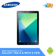 "Samsung SM-P585 Galaxy Tab A with S Pen 10.1"" 4G LTE Wi-Fi RAM 3GB 32GB / Black"