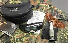 Original German Army REVISION SAWFLY  Ballistic Eyeware Sunglasses Kit 3 Lenses