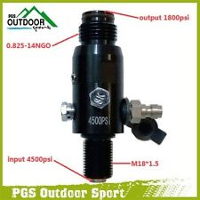 Paintball Airsoft Airfroce 4500psi HPA Air Tank Regulator 1800psi Output M18*1.5