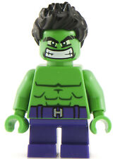 Genuine Lego Marvel Super Heroes Incredible Hulk Minifigure - 76066 Mini Figure
