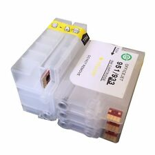 Refillable Ink Cartridge for HP 932 933 Officejet 7510 7512 ink tanks with chips