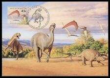 AUSTRALIA MK DINOSAURIER DINOSAUR MAXIMUMKARTE CARTE MAXIMUM CARD MC CM bb21