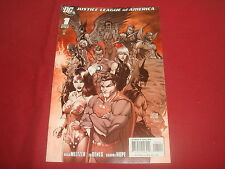 JUSTICE LEAGUE OF AMERICA (2006-2011) #1 4th Print Turner Variant  DC Comics NM