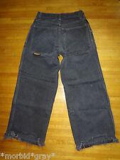 Vintage JNCO PIPES wide leg skater raver jeans 90s punk grunge sz 29 thrashed