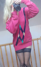 Lyle& Scott vintage  80's 90's woman  Long Jumper  100% pure lambswool