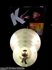 "Zildjian KCH390 K Custom Hybrid Cymbal Box Set Pack 21"" Ride 17"" Crash 14"" Hats"