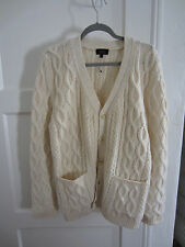 APC Oversized Cable Knit Cardigan, XL, Opening Ceremony