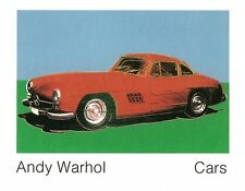 ANDY WARHOL - 300 SL Coupe 1954 Art Print Offset Lithograph Car Poster