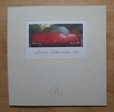 ACURA NSX, Legend Sedan, Vigor & Integra 1993 brochure - Honda interest