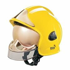 MSA GALLET FIRE HELMET NEW - REGULAR SIZE - DC3ESL/5008 YELLOW - BRAND NEW