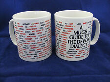 Devon dialecte langue locale sayings traduction anglaise pour mug