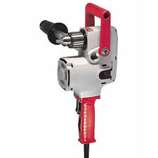 """NEW MILWAUKEE 1670-1 """"HOLE HAWG"""" ELECTRIC 1/2"""" HEAVY DUTY 900 RPM DRILL 7.5A"""