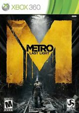 Metro: Last Light GAME (Xbox 360) **FREE SHIPPING!!