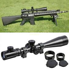 ZOS 6-24x50 ESF IR SWAT Estrema Tactical Rifle Scope Fucile Mirino + 11mm Monti