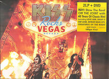 "KISS ""Kiss Rocks Vegas"" 180g sealed EU Vinyl 2LP + DVD"