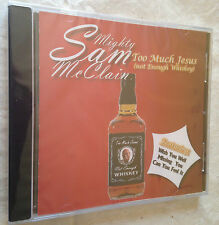 MIGHTY SAM McCLAIN CD TOO MUCH JESUS CBHCD 2023 BLUES