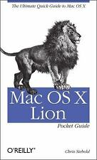 NEW - Mac OS X Lion Pocket Guide: The Ultimate Quick Guide to Mac OS X