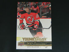 2014-15 Upper Deck UD Canvas Young Guns #C233 Seth Helgeson New Jersey Devils RC