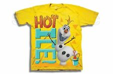 SFK Disney Frozen Olaf the Snowman Hot Ice Tee shirt kids tshirt