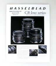 HASSELBLAD CB LENS SERIES BROCHURE