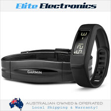 GARMIN VIVOFIT 2 BLACK ACTIVITY TRACKER SLEEP & HEART RATE MONITOR WRIST BAND