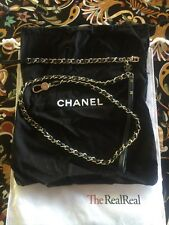 Chanel Collar And Leash Gold Hardware